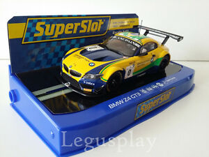 Slot SCX Scalextric Superslot H3721 BMW Z4 GT3 Sports Trophy Team Brasil Nº0