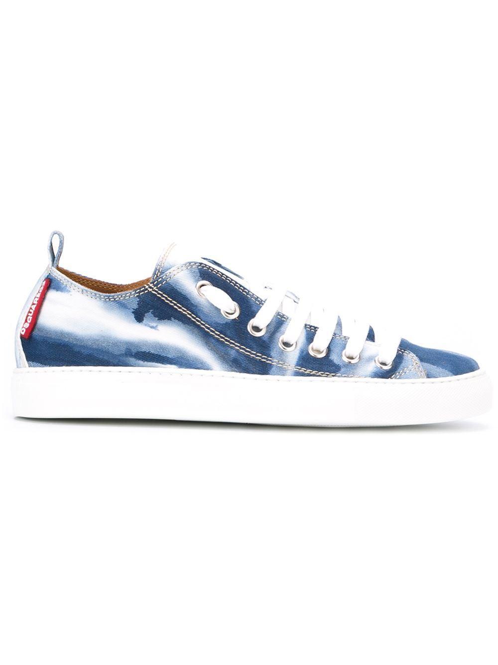 Dsquared2 uomo denim sneaker in denim uomo (25B) 29d725