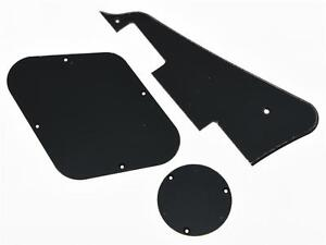 LP-Pickguard-Back-Plate-Switch-Cavity-Covers-for-Epiphone-Les-Paul-Black-1-Ply