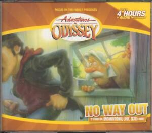 New Adventures In Odyssey No Way Out 42 4 Cd Audio Set