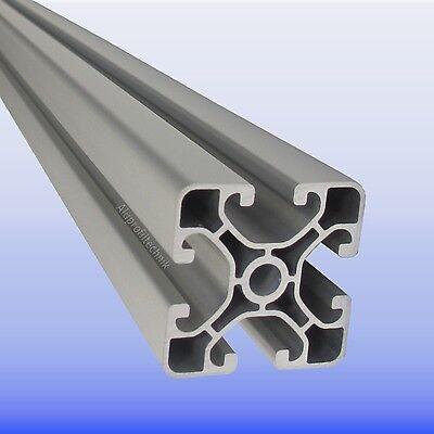 2x ALU Profil Aluprofil 20x20 Nut 6 Aluminium Profil item kompatibel Nutprofil