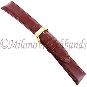 20mm-Speidel-Tan-Royal-English-Leather-Padded-Stitched-Mens-Band-Regular-965-730
