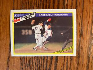 1987 Topps Collectors Series #29 Darryl Strawberry Baseball Card New York Mets