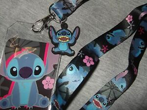 Stitches And Lilo Lanyard Keychain Charm Id Holder Cheapest Elect