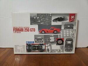 VINTAGE-1985-GUNZE-High-Tech-Model-1-24-Ferrari-250-GTO-Multi-Material-Model-Kit