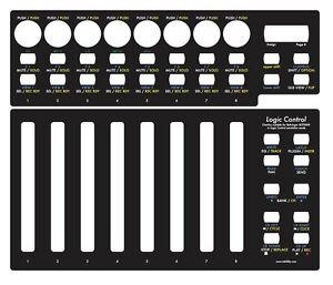 Overlay-schwarz-fuer-Behringer-BCF2000-in-Logic-Control-emulation-mode