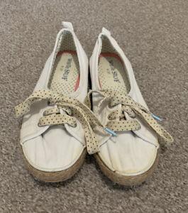 White Stuff Ladies Canvas Trainer Shoes