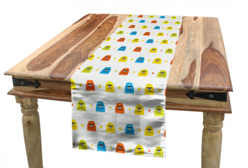 Details about  /Ambesonne Nursery Table Runner Dining Room Kitchen Decor in 3 Sizes