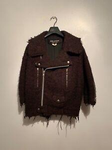 Sz Watanabe Dames Small Junya Bikerjack Tweed IED2WH9