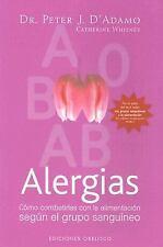 ALERGIAS (Coleccion Salud y Vida Natural) (Spanish Edition)-ExLibrary