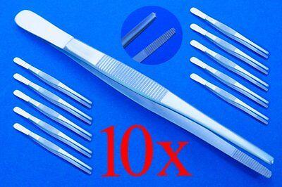 Genial Anatomische Pinzetten Ca 13,5 Cm 10x Top Qualität Medizin & Labor