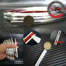 Auto Adhesivo Con Tira Estilo Cromo Auto Camioneta 4x4 0,9 Cm / 9 Mm X 2m