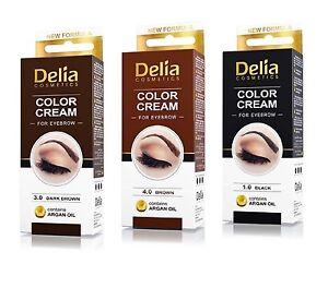 DELIA-Henna-Color-Cream-Eyebrow-Tint-Kit-Set-Black-Brown-Dark-Brown-Dye