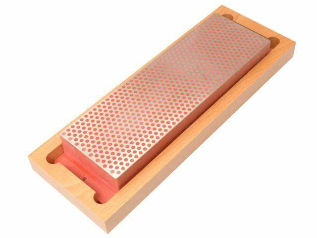 DMT - Diamantschleifstein 200mm Holzbox Rot 600 Körnung fein
