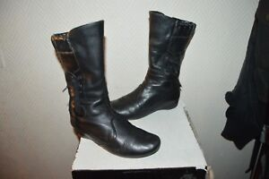 Bottes Be 36 Cuir Leather Chaussure Taille Boots Pikolinos botas stivali qARc1xdC1w