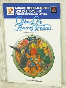 OTHER LIFE AZURE DREAMS Official Guide Play Station Book 1997 NT86