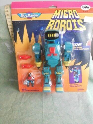 MICRO MACHINES MICRO ROBOTS GIG TRANZOR VINTAGE TOY ANNI 90