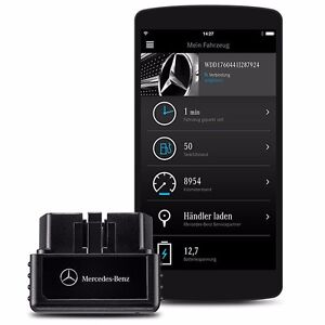 Genuine mercedes benz mercedes me adapter obd2 connect me for Www mercedes benz com connect