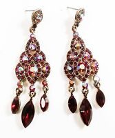 Vintage Style Earrings Costume Jewelry Fashion Bohemia Drag Queen Prom Gem Drama