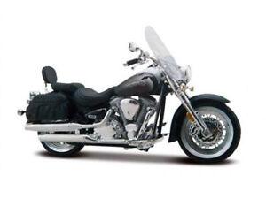 MAISTO-1-18-Yamaha-Road-Star-Silverado-MOTORCYCLE-BIKE-DIECAST-MODEL-NEW-IN-BOX
