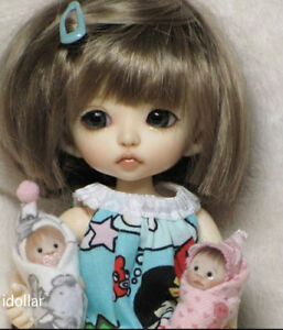 Face Up Size 15.5cm High Quality Toys 1//8 BJD SD Cute Lovely Girl Free Eyes