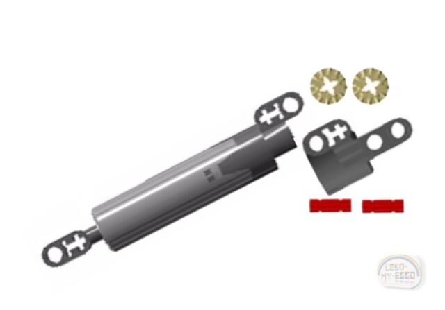 4638507 10-15M New - 12-pc Linear Actuator Kit LEGO Technic EV3