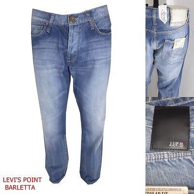 2019 Nuovo Stile Jack&jones Jeans Uomo Gate Svasato A Zampa Largo Azzurro Taglia W33 W34 Nuovo Vivace E Grande Nello Stile