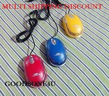 TeraByte Colored USB Wired Optical Mouse 1000 DPI for PC Desktop Laptop Notebook