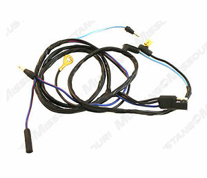 1969-1970 Ford Mustang Dash to Console Wiring Harness | eBay