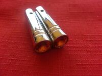 Lowrider Hydraulics Aluminum Switch Extensions Amber (2) Pack,peterbilt,carling