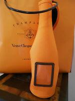 Veuve Clicquot Orange + Neoprene Ice Jacket Sleeve Champagne Carrier