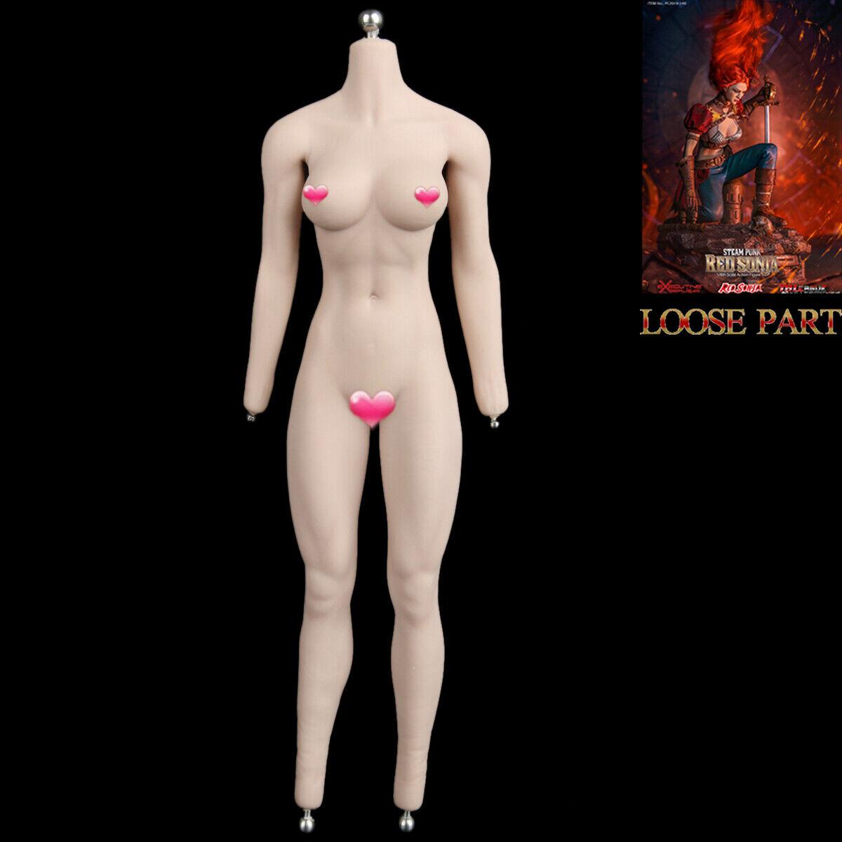 TBLeague PL2019-140 1 6 Scale Steam Punk rot Sonja 12  Action Figure Body Model
