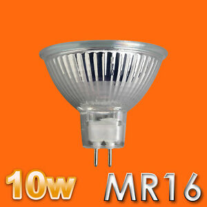 2X-4X-6X-10X-10W-MR16-HALOGEN-BULBS-LIGHT-BULB-100-LUMENS-12V-NEW