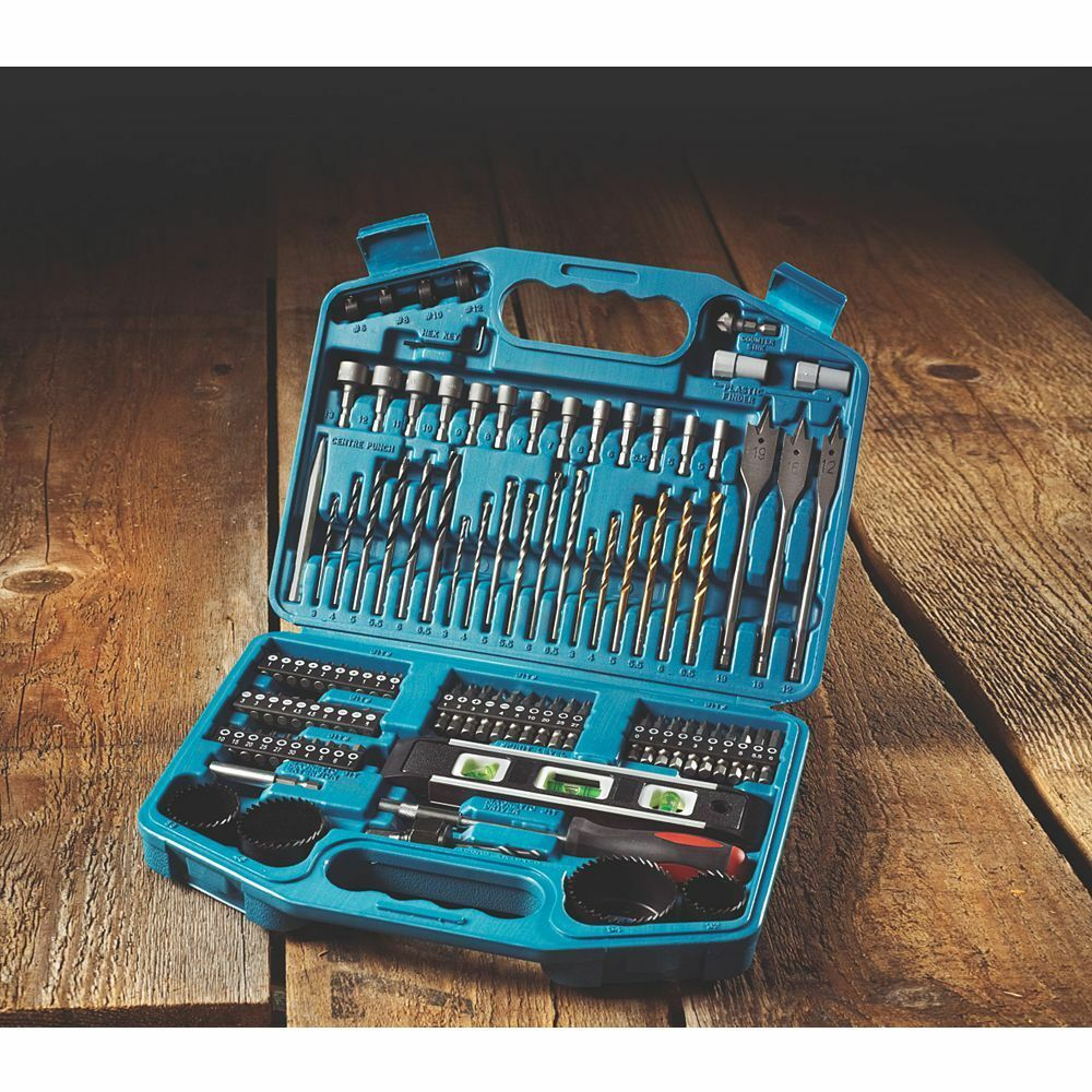 Makita p-67832 Drill Bit Set Metric Screwdriver 101 Piece Professional Set New