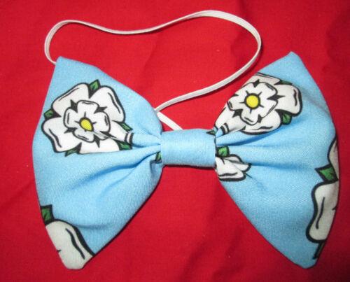Yorkshire Rose Waistcoat Or Bow Tie Mens Ladies Fancy Dress Cricket