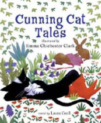 """VERY GOOD"" Cunning Cat Tales, Cecil, Laura, Book"