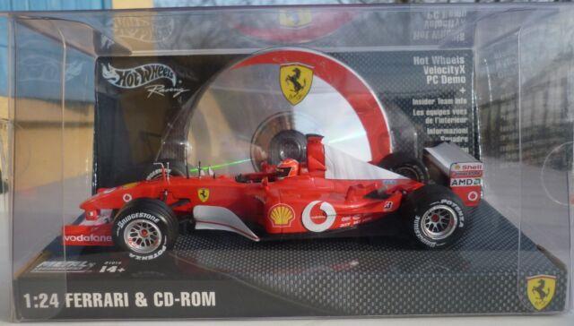 Ferrari F1 schumacher 2002 & CD-ROM 1:24