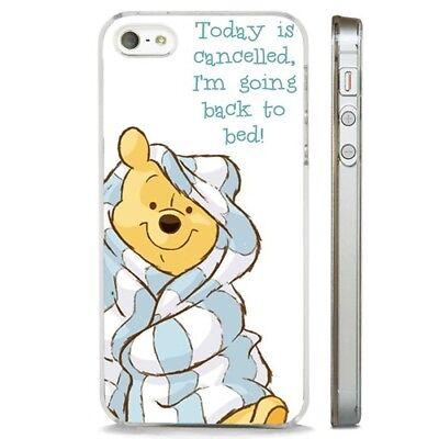 Winnie The Pooh Bear Disney Sleepy CLEAR PHONE CASE COVER fits iPHONE 5 6 7 8 X   eBay