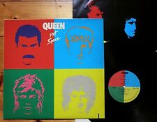 Queen - Hot Space USA 1982 + OIS + Texte Elektra E1-60128 SP Matrix Sterling TOP