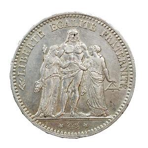 Piece-Argent-France-5-francs-Hercule-1875-A-Atelier-de-Paris