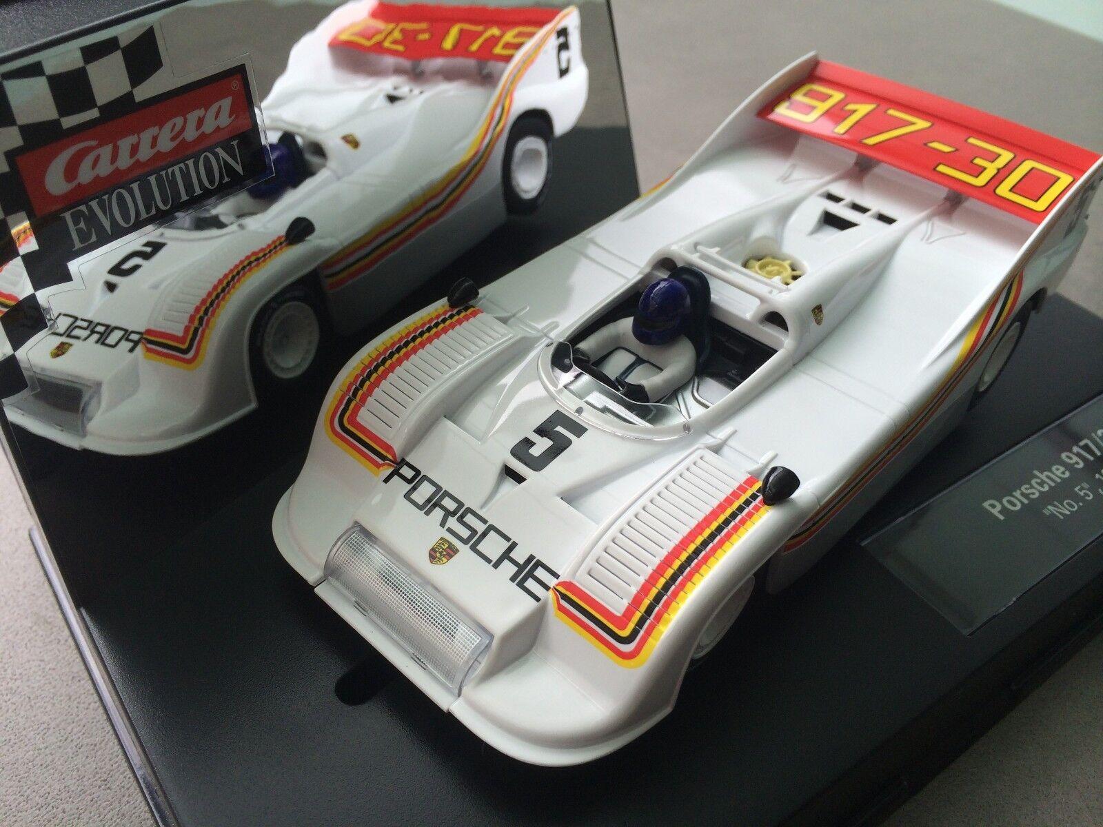 Carrera Evolution 27437 Evolution Porsche 917 30  No.5 , 1973 NEU    Zuverlässige Leistung