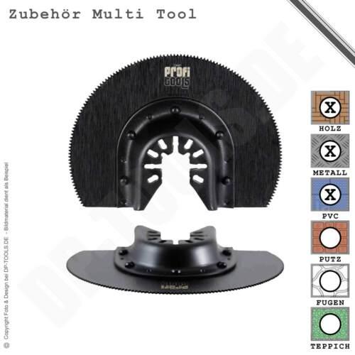 Segmentsägeblatt HSS 88 Buntmetall für Multifunktionswerkzeug Multi Tool