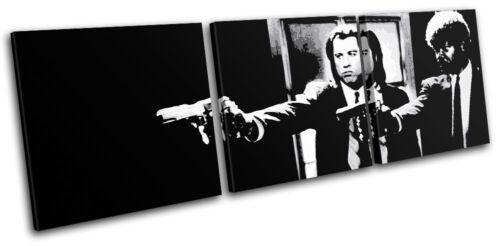 Pulp Fiction Movie Greats TREBLE Leinwand Wand Kunst Bild drucken