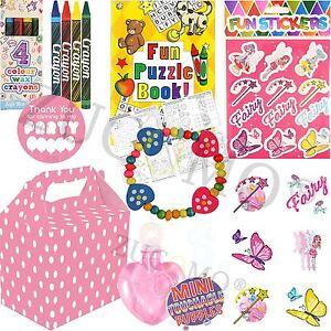 Pre-remplis-de-filles-parti-sacs-boites-Birthday-Parties-Goodies-Fillers-jouets-faveurs