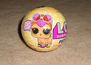 YELLOW BALL LOL SURPRISE DOLL PETS SERIES 3 NEW