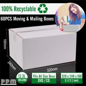 60-Mailing-Box-320x240x160mm-White-Carton-fit-Australia-POST-5KG-Parcel-Satchel