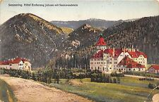 BG25023 semmering hotel erzherzog johann mit sonnwendstein  austria