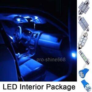 10pcs Blue Smd Led Interior Lights Package For Dodge Ram 1500 2500 2003 2010 Ebay