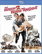 Incredible Two-Headed Transplant (with optional RiffTrax) (Blu-ray Disc, 2015, With Optional Rifftrax)