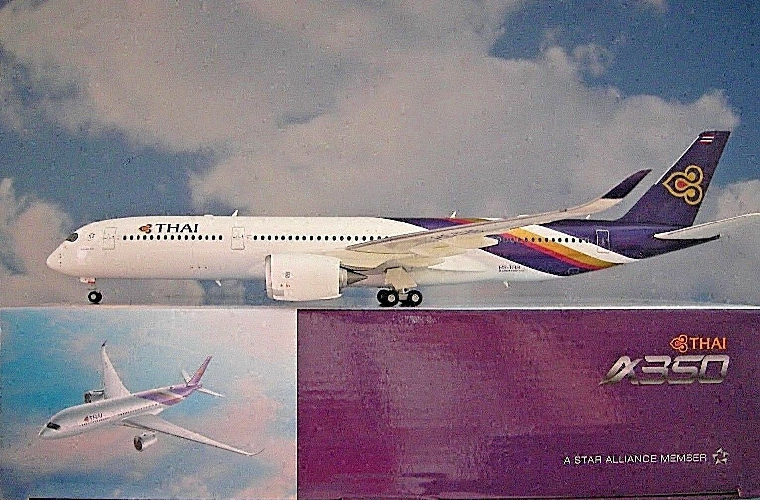 Herpa Wings 1 200 Airbus A350-900 Xwb Thai Airways Hs-Thb 558259